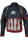 Civil War Captain America Inspired Jacket SM