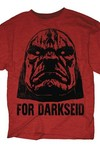 DC Heroes For Darkseid Previews Exclusive Red Heather T-Shirt LG