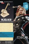 Incredibuilds Marvel Thor Deluxe Model W Book