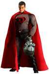 One-12 Collective Previews Exclusive Superman Red Son Action Figure