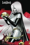 Lady Death Oblivion Kiss #1 Foil Premium Cover
