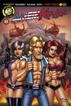 Amerikarate #1 (Cover D - Explosive Threesome)