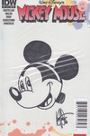DF Mickey Mouse #1 Haeser Mod Mickey Sketch Sgn