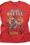 Blue Beetle Previews Exclusive Red Heather T-Shirt LG