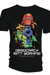 2000 AD Judge Dredd Democracy Isnt Working Previews Exclusive Blk T-Shirt XL