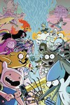 Adventure Time Regular Show #1 (Subscription Corona Variant)