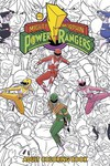 Mighty Morphin Power Rangers Adult Coloring Book TPB