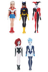 Batman Animated Series/New Batman Adventures Girls Night Out Action Figure 5 Pack