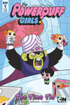 Powerpuff Girls Time Tie #1 (of 3) (Funko Art Variant Cover)