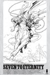 Seven To Eternity #6 (Cover D - Spawn Month Black & White Variant Cover Edition)
