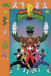 DF Mighty Morphin Power Rangers #1 Green Higgins Sgn