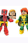 Marvel Minimates Series 65 Deadpool - Secret Wars Deadpool and X-Force Siryn