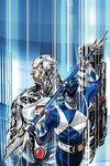 Justice League Power Rangers #1 (of 6) (Cyborg Blue Ranger Variant Cover Edition)