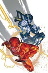 Justice League Power Rangers #1 (of 6) (Flash Black Ranger Variant Cover Edition)
