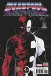 DF Deadpool Back In Black #1 Nicieza Sgn