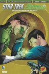 DF Star Trek Green Lantern #1 DF Exc Lee Plus 2