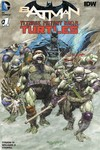 DF Batman Teenage Mutant Ninja Turtles #1 DF Exc Adams Cover Set