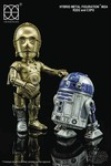 Star Wars HMF-0024 C3PO and R2D2 Action Figure