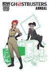 Ghostbusters Annual 2015 (Subscription Variant)