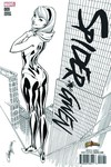 DF Spider-gwen #9 Comicxposure Exc B&W Campbell