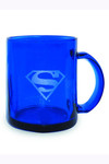 DC Heroes Superman Blue Translucent Mug