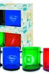 DC Heroes Translucent Mug 4pc Set