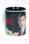 Scarface The World Is Yours Black Ceramic Mug