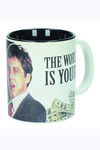 Scarface The World Is Yours White Ceramic Mug