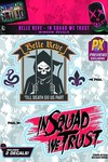 Suicide Squad Belle Reve Prison Previews Exclusive Logo Decal