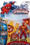 Ultimate Spider-Man: Catapult Smash Iron Spider-Man Figure