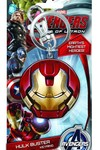 Avengers Age Of Ultron Hulkbuster Face Pewter Keyring