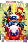 SDCC 2015 Exclusive Civil War #1 (Minimates Variant Cover Edition)