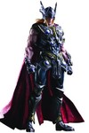 Marvel Comics Variant Play Arts Kai Thor Action Figure