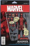 DF Deadpool #7 Action Figure Variant Red Nicieza Sgn