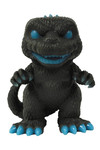 Pop Godzilla Atomic Breath Godzilla Previews Exclusive 6in Gid Vinyl Figure