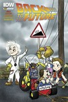 Back To The Future #1 (of 4) (Subscription B Cover)