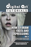Digital Art Tutorials Draw Faces And Expressions CDrom