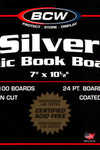 Silver Backing Board 100 pack