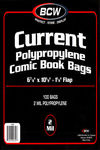 BCW Comic Bags  100 pk (Current)