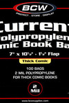 BCW Thick Comic Bags  100 pk (Current)