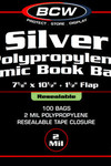 Silver Resealable Bag 100 pack