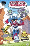 Angry Birds Transformers #4 (of 4) (Subscription Variant)