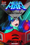 Mega Man #46 (Brother vs. Brother Variant Cover)