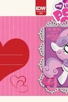 My Little Pony Friendship Is Magic #39 (Valentines Day Card Variant)