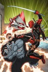 Deadpool Mercs For Money #3 (of 5) (Lim Variant Cover Edition)