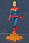 SDCC 2016 Exclusive Marvel Femme Fatales Captain Marvel Mohawk PVC Figure