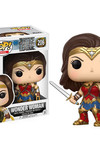 Pop Movies: Justice League - Wonder Woman Vinyl Figure