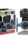 Pop Deluxe Star Wars TIE Fighter with TIE Pilot Vinyl Figure