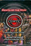 Chaotic TCG Zenith Of The Hive Booster Dis - nick & dent