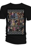 Doctor Who All Doctors & Comanions Blk T-Shirt XXL